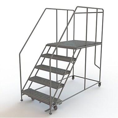 Tri-Arc – Plateforme de travail mobile, 5 marches, 50 x 48 po (WLWP153648SL)