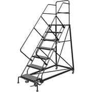 "Tri-Arc Safety Slope Rolling Ladder, 7 Step, 70"" x 74"""
