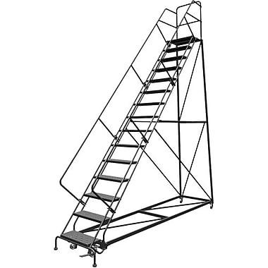Tri-Arc Safety Slope Rolling Ladder, 15 Step, 150