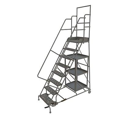 Tri-Arc – Échelle roulante pour la cueillette de marchandise, 24 x 80 po, 8 paliers, à perforations (KDSP108246)