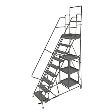 Tri-Arc – Échelle à roulette pour cueillette de marchandises, 24 x 90 po, 9 marches