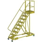 Tri-Arc – Échelle roulante en porte-à-faux renforcée de 90 po, striée, 97 x 97 po (UCS500920242)