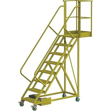 Tri-Arc – Échelle roulante en porte-à-faux non renforcée de 80 po, perforée, 89 x 30 po (UCU500820246)