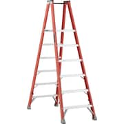 Louisville Ladder 8' Industrial Heavy-Duty Fibreglass 2-Way Platform Stepladder (Fmp1500 Series) (FMP1506)