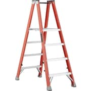 Louisville Ladder 6' Industrial Heavy-Duty Fibreglass 2-Way Platform Stepladder (Fmp1500 Series) (FMP1504)