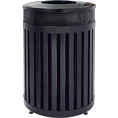 Rubbermaid Avenue Series Outdoor Waste Container Open Top 24.5