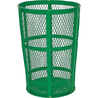 Rubbermaid – Poubelle grillagée, 45 gallons, vert (FGSBR52GRN)