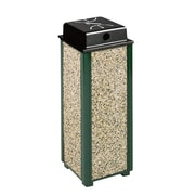 Rubbermaid Aspen Series Outdoor Container with Weather Shield, 2.5 Gallons (FGR41WU201PL)