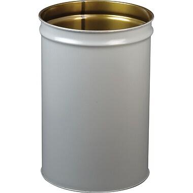 Justrite – Cease Fire, baril de 55 gallons seulement, gris (26054)