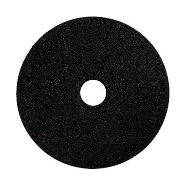 Dustbane – Tampon décapant pour plancher, 18 po, noir (42013)