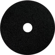 "Dustbane 19"" Floor Stripping Pad, Black (42014)"