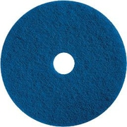 "Dustbane 19"" Floor Cleaner Pad, Blue (42083)"