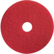 "Dustbane 19"" Floor Buffing Pad, Red (42106)"