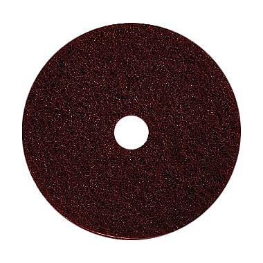 Dustbane – Tampon décapant de 15 po pour planchers, marron (42828)