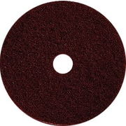 "Dustbane 20"" Floor Stripper Pad, Maroon 5/Case (42833)"