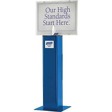 Purell – Poste de distribution de lingettes désinfectantes, haute capacité, bleu (JD603)