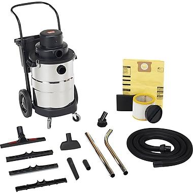 Shop Vac – Aspirateur industriel robuste de série 2 phases, 10 gallons, acier inoxydable, (97002-10)