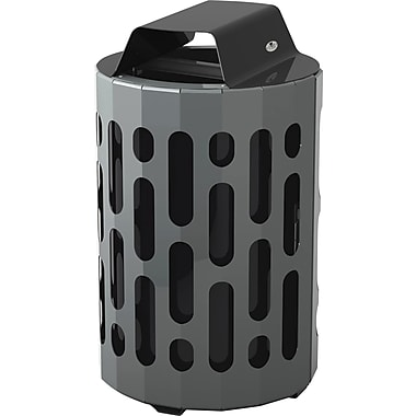 Frost Stingray Waste Receptacle 42 Gallons, Black (2020-BLACK)
