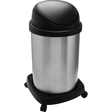 Shop Vac – Poubelle Shop-CanMD de 20 gallons, 16 pouces, acier inoxydable, couvercle basculant (114-10)