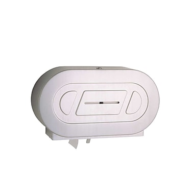 Bobrick Double Toilet Tissue Dispenser, stainless steele, 9
