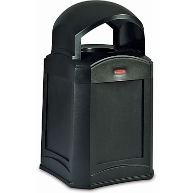 Rubbermaid Islander Container, Dome Top 35 Gallons (FG9W0100BLA)