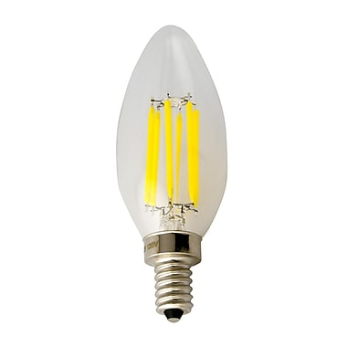 Northern Stars – Ampoule 120V 5W B10 DEL 80333, intensité variable, blanc chaud, paq./10