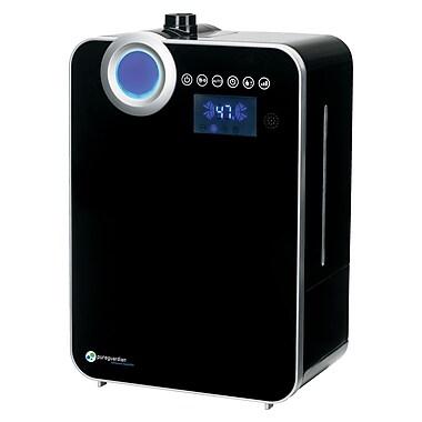 PureGuardian® – Humidificateur ultrasonique Elite H8000BCA à vapeur chaude et froide, 120 h, avec capteur intelligent