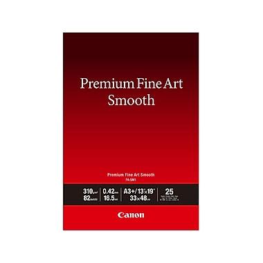 Canon – Papier photo Premium beaux-arts lisse, 13 po x 19 po, 25 feuilles