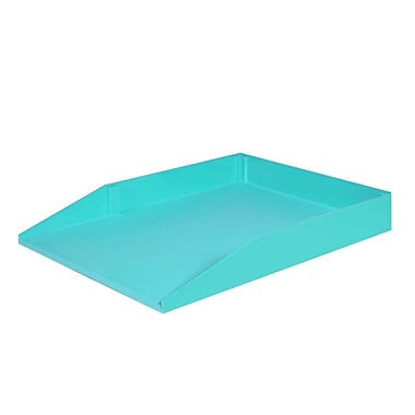 Solegear - Plateau de papier empilable Good Natured pour le bureau, legal, Mojito