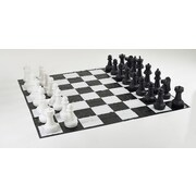 Garden Games Giant Chess Set with Mat