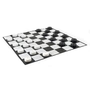 Garden Games Giant Checkers Set with Mat
