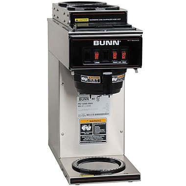 Bunn VP17-3L 12 Cup Pourover Coffee Brewer, 3 Warmers