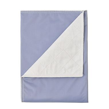 BIOS Living – Protège-drap lavable, 34 x 37 po, bleu (57005)