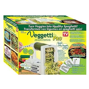 Comme à la TV – Veggetti Pro, coupeur de légumes en spirale pour dessus de table