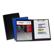 Duraply Folding Clipboard, Blue, Letter size, 4/Pack