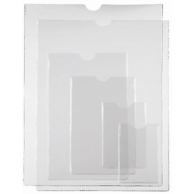 Filemode – Pochettes en poly, transparent, 2 1/4 x 3 1/2 po, 100/paquet
