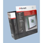 "Duraply Poly Presentation Binders, 1""D Ring, 4/Pack"