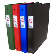"Filemode Extra Thick Poly Binders, 1.5"" Ring, 6/Pack"