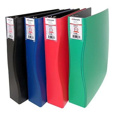Duraply Commercial Poly Binder, Blue, 3