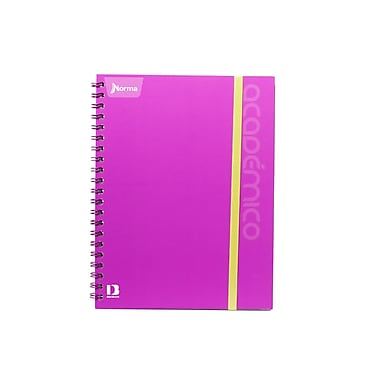 Norma – Cahier de notes Academico, 8 1/2 x 11 po, 240 pages, violet, 3/paquet