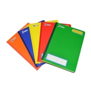 "Norma Color 360 Notebook, 9.75""x7.5"", 200 pgs, Assorted Colours, 8/Pack"