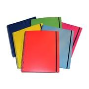 Filemode – Journal coloré Designer, 11 x 9 po, couleurs variées, 12/paquet