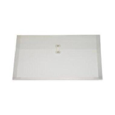 Filexec – Enveloppes en poly, chargement latéral, fermeture à ficelle, soufflets de 1,5 po, 12/paquet