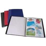 Filexec – Livre de présentation en poly, noir, format lettre, 8/paquet