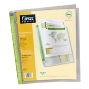 Filemode Presentation Binders, Clear, 6/Pack
