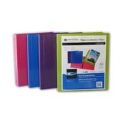 Filemode – Reliures de présentation en néon, couleurs variées, 6/paquet