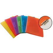 VLB Side Clip Binder, Assorted Colours, 12/Pack