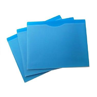 Filexec – Pochettes de classement, avant transparent, format lettre, 20/paquet