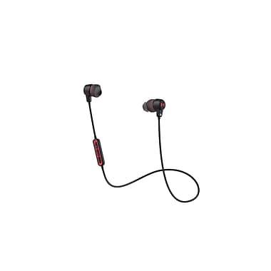 Under Armour – Écouteurs-boutons sans fil avec micro et télécommande conçus par JBL, noir