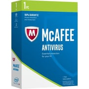 Intel Security McAfee AntiVirus 2017, 1 PC